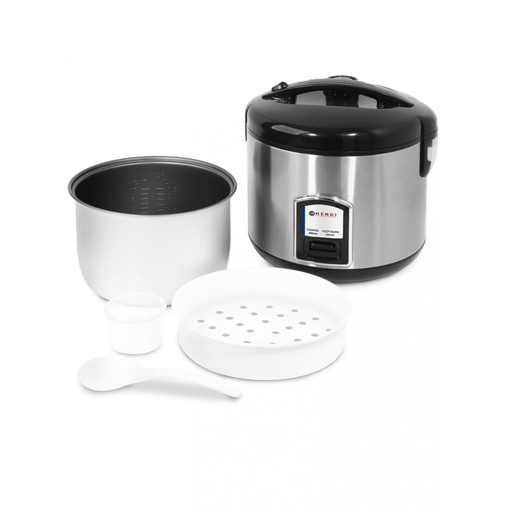 Rijstkoker Met Stoomfunctie - 1.8 Liter - Hendi - 240410