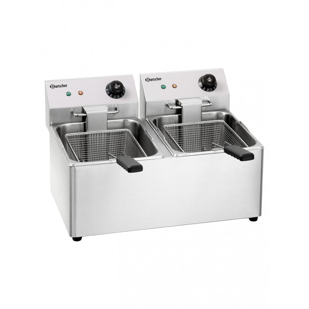 Friteuse - 2 x 8 Liter - 230V - Bartscher - A162812E