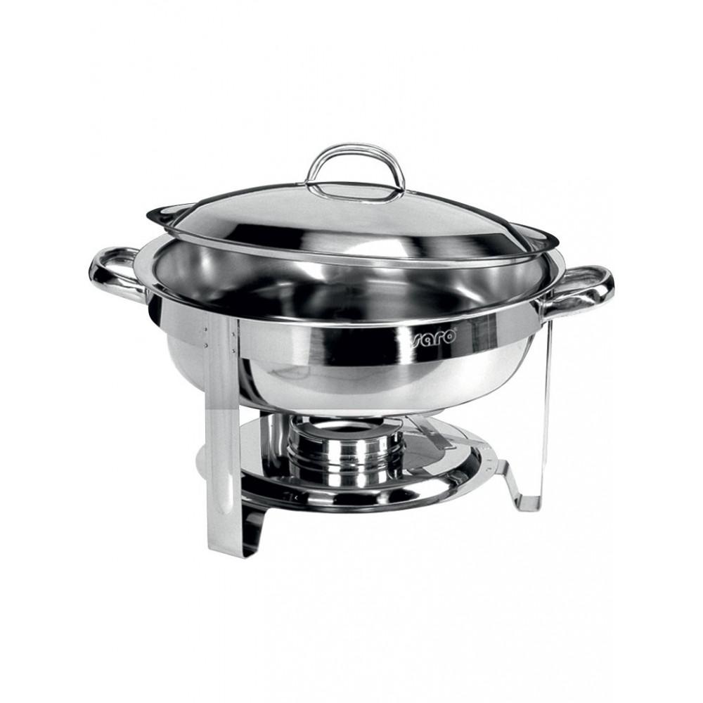 Chafing dish - Rond - 4 Liter - Saro - 127-1018