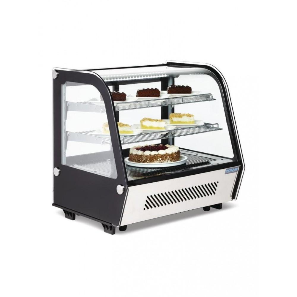 Polar tafelmodel gekoelde vitrine - 120ltr - 230V - Polar - CD229