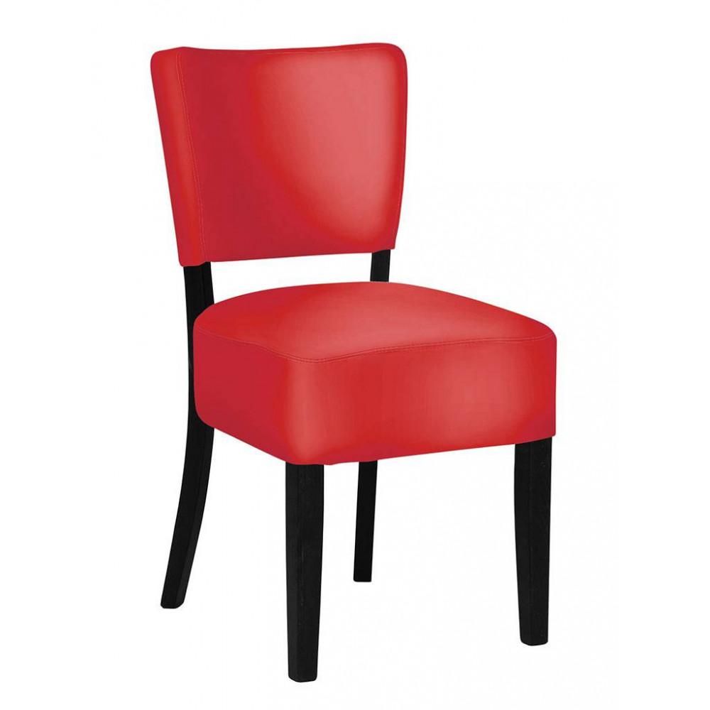 Horeca stoel - Rome - Rood - Promoline