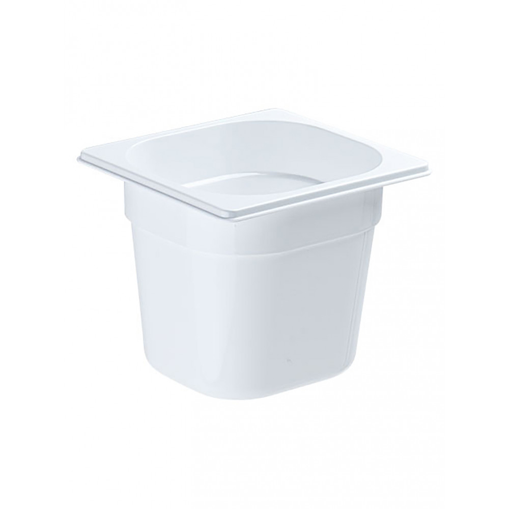 Gastronormbak - Polycarbonaat - Wit - 1/6 GN - 150 mm - Promoline