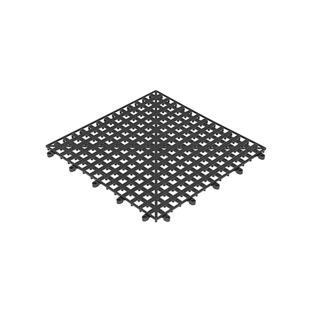 Glas-Afdruipmat - H 1.5 x 33 x 33 CM - 0.26 KG - Polypropyleen - 130065