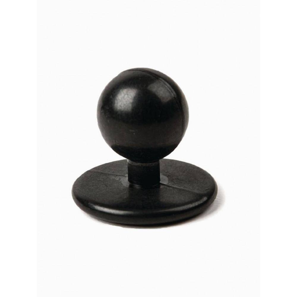 Bolknopen Zwart