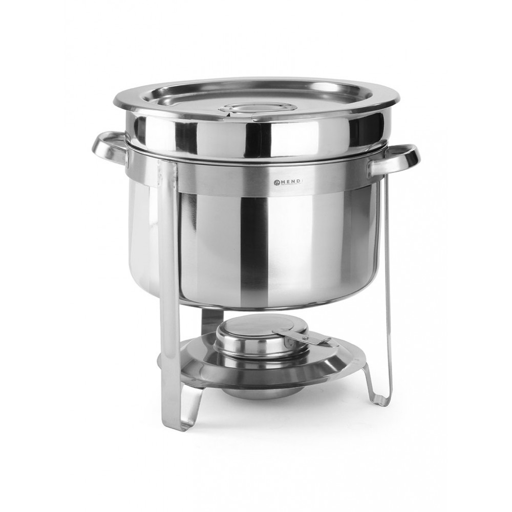 Soep chafing dish - Economic - 8 liter - RVS - Hendi - 472507