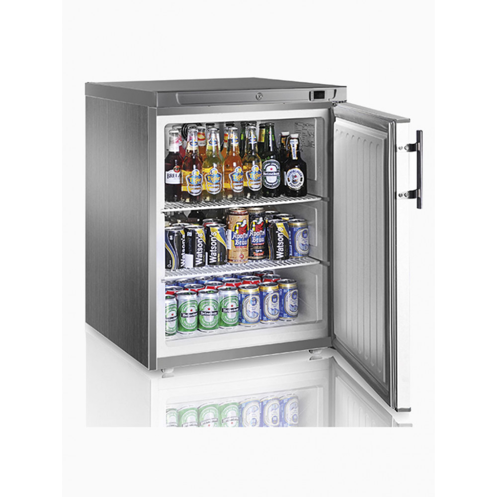 Horeca koelkast - 100 Liter - 1 deurs - RVS - Mastro - BMA0050/CI