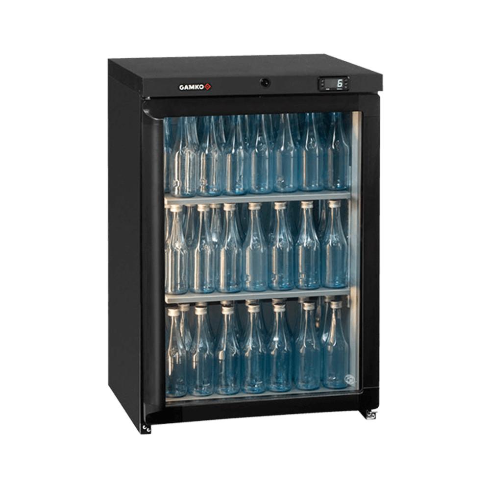 Koelkast glazen deur - Flessenkoeler - 1 deurs - Gamko - Maxiglass - LG3/150RG84