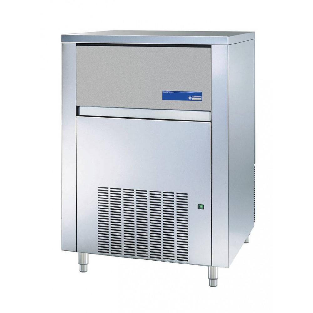 Diamond 95 kg / 24u - Volle ijsblokjes - Luchtgekoeld - RVS uitvoering | Volle ijsblokjesmachine
