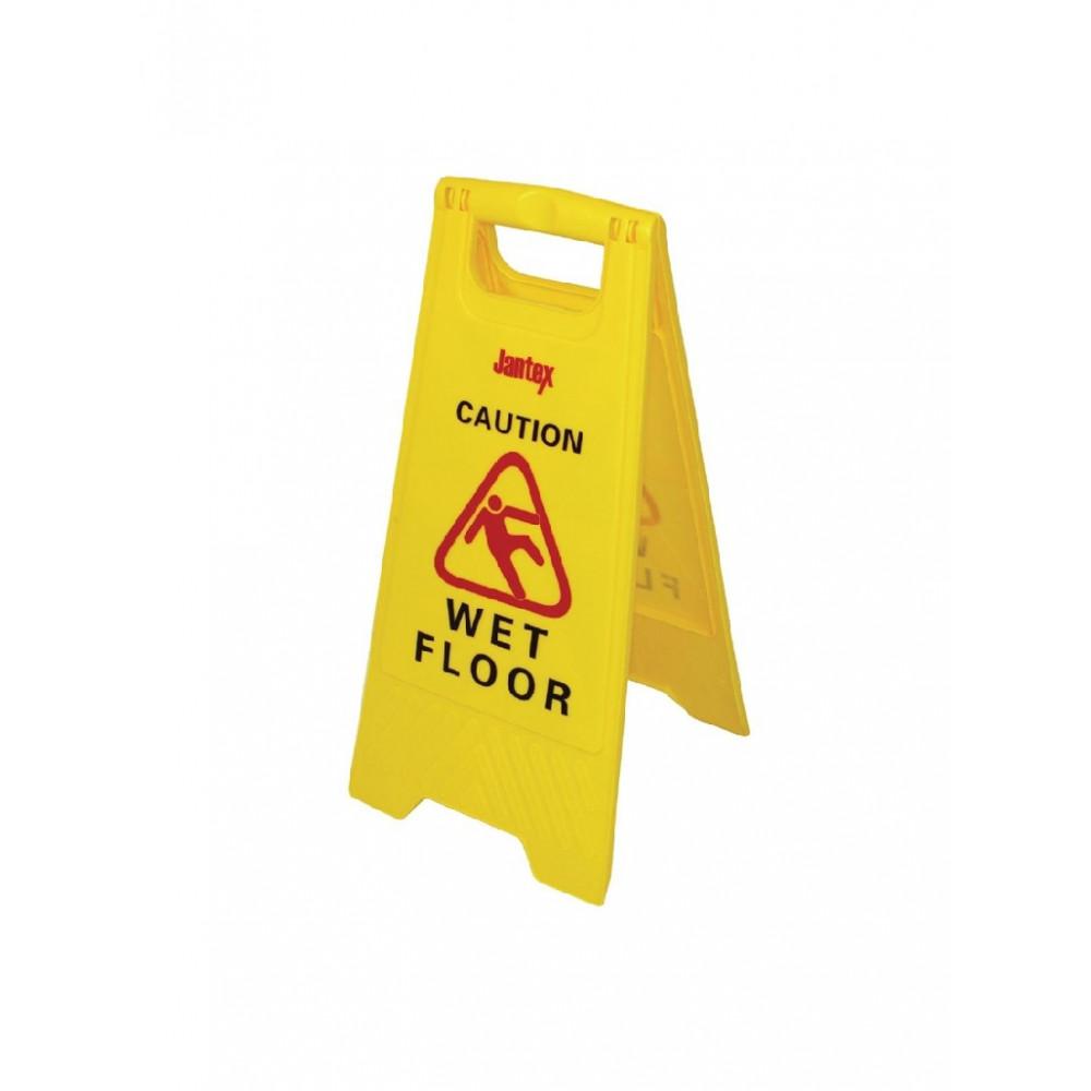 "Waarschuwingsbord ""Wet floor"" - Jantex - L416"