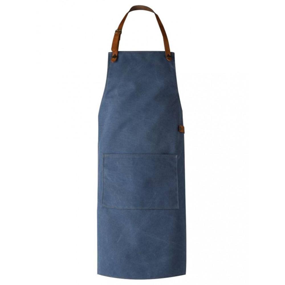 BBQ schort / schorten Authentic Blauw