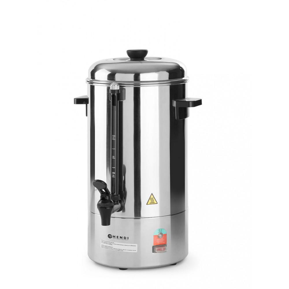 Koffie percolator - 6 liter - Enkelwandig - Hendi - 208007