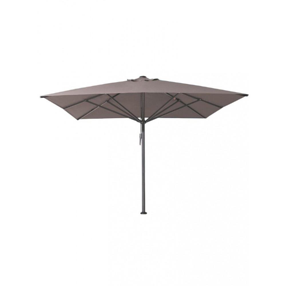 Horeca parasol - 400x400 cm - Taupe - Karin