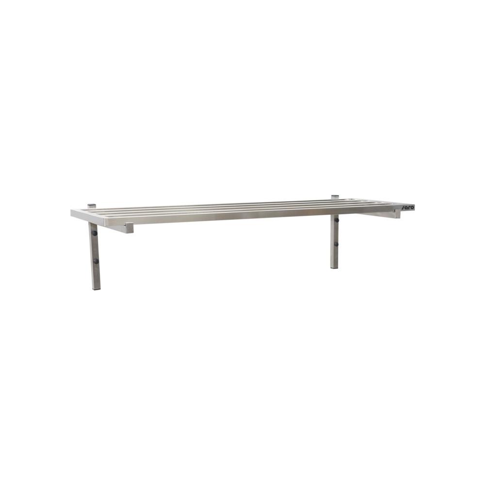 Wandschap - Spijlenrooster - 120 x 40 cm - Saro - 700-4605