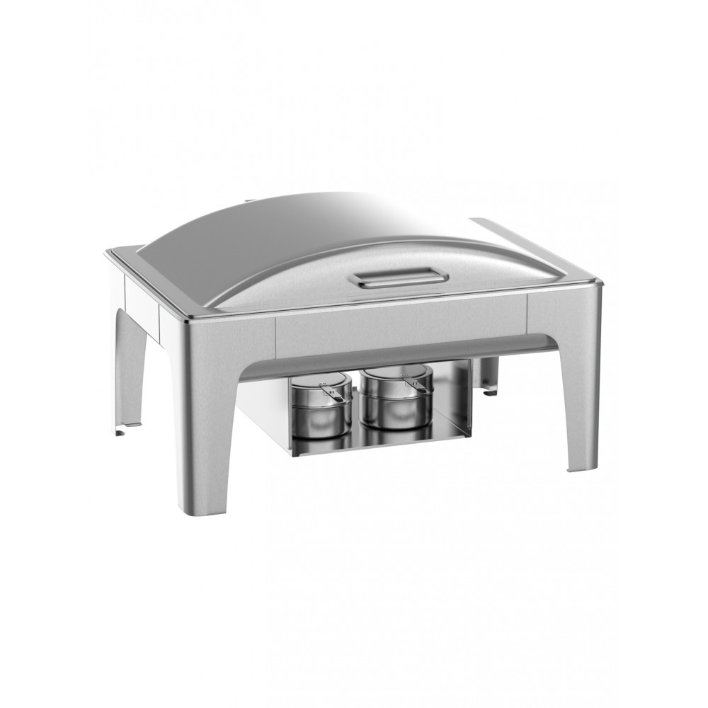 Chafing dish - Deluxe - 1/1 GN - RVS - 9 Liter - Promoline