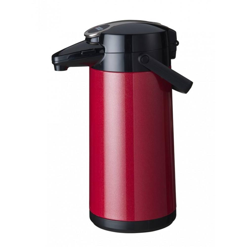 Airpot Furento - 2.2 liter - Rood/RVS - Bravilor