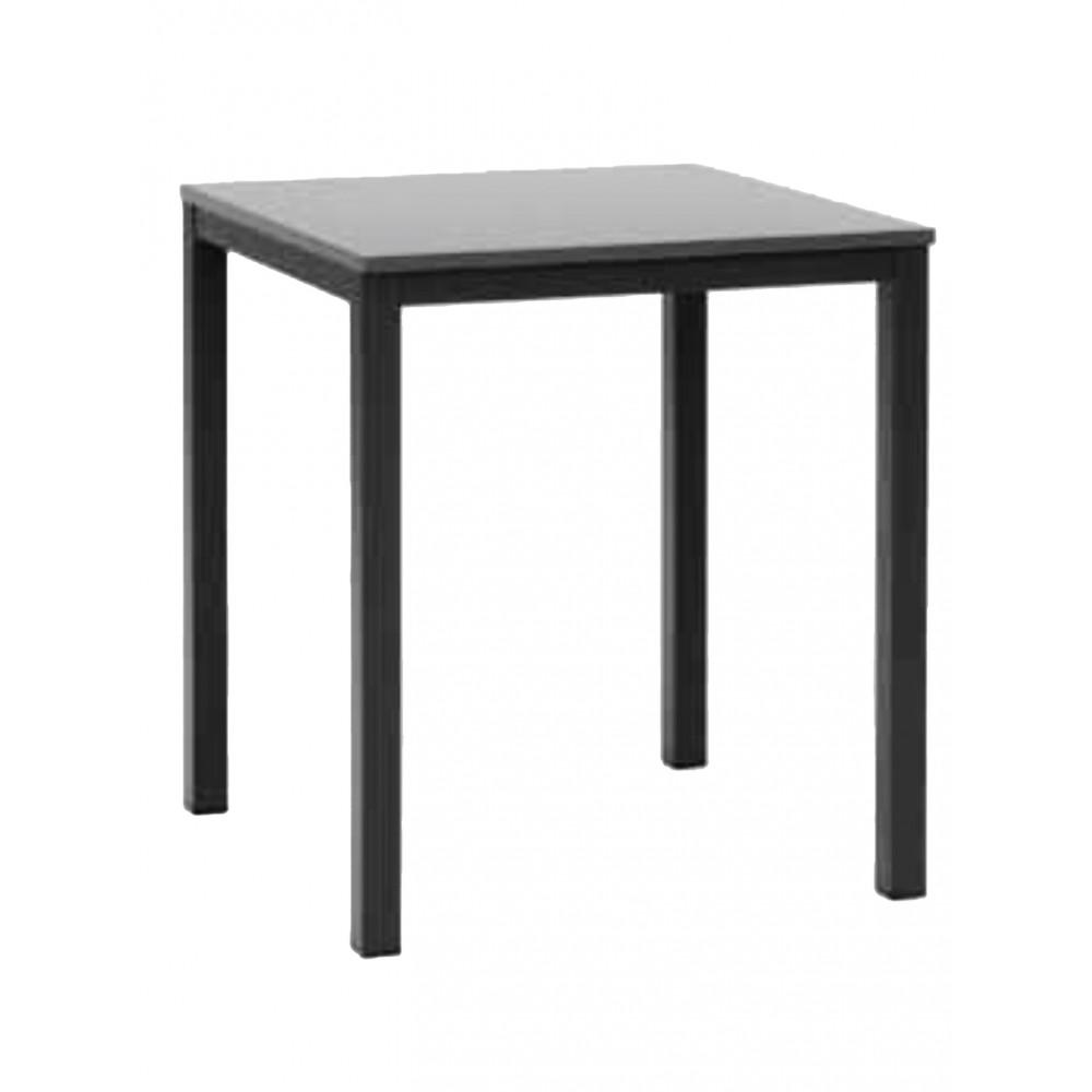 Onderstel - Square - Laag - 140 x 80 CM - Zwart - Promoline