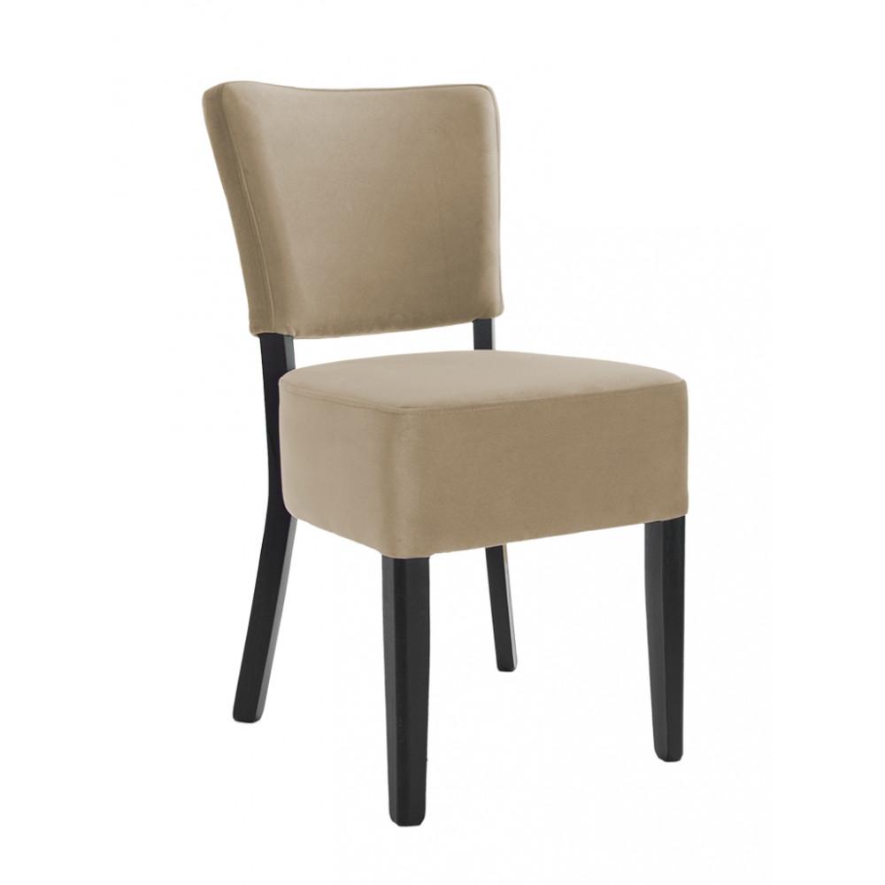 Horeca stoel - Rome - Velvet - Taupe