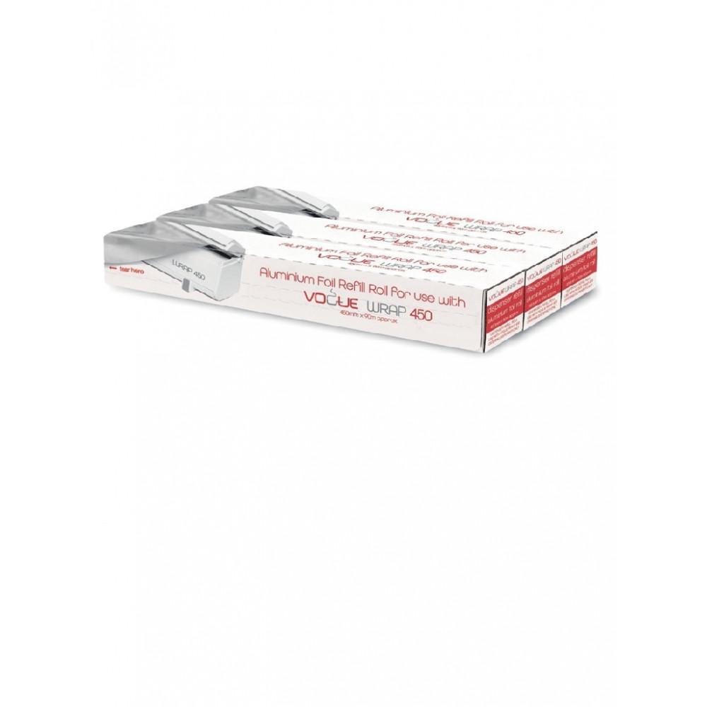 Navulling aluminiumfolie - Wrap450 dispenser - Vogue - CW204