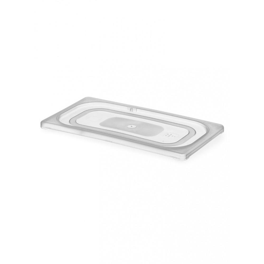 Gastronormdeksel - 1/2 GN - HACCP - Polypropyleen - Hendi - 880616