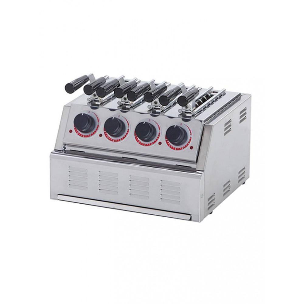Tosti-Apparaat - 4 - RVS - Stilfer - 527004
