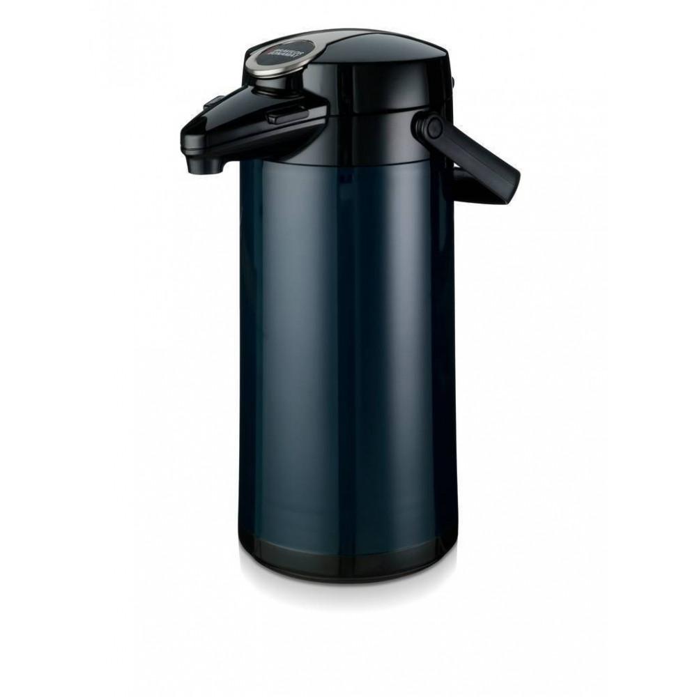 Airpot Furento - 2.2 liter - Blauw/Glas - Bravilor