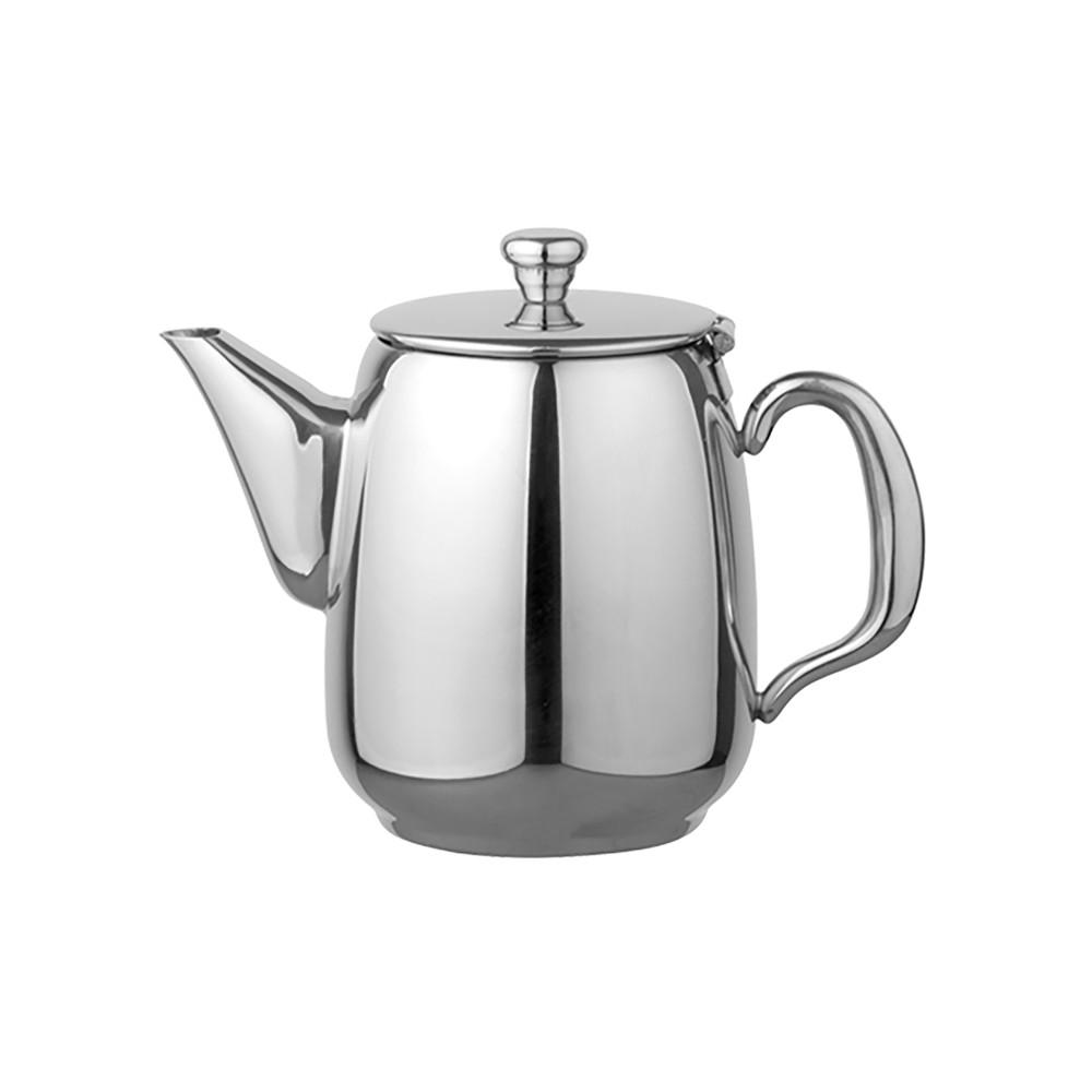 Koffiepot - H 13 CM - 0.35 KG - Ø10 CM - RVS 18/10 - 0.5 Liter - 635008