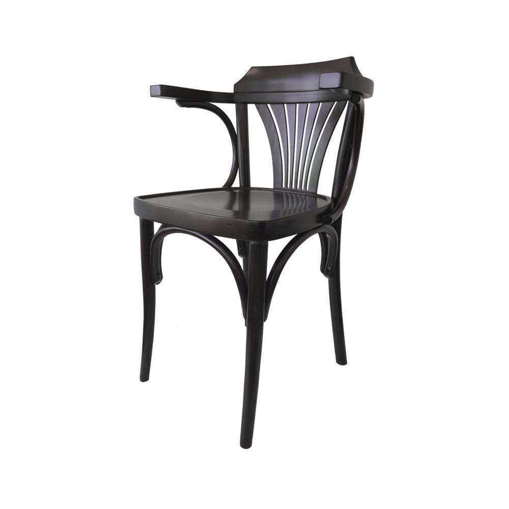 Horeca stoel - Café Bistro Noten - Wengé - Promoline