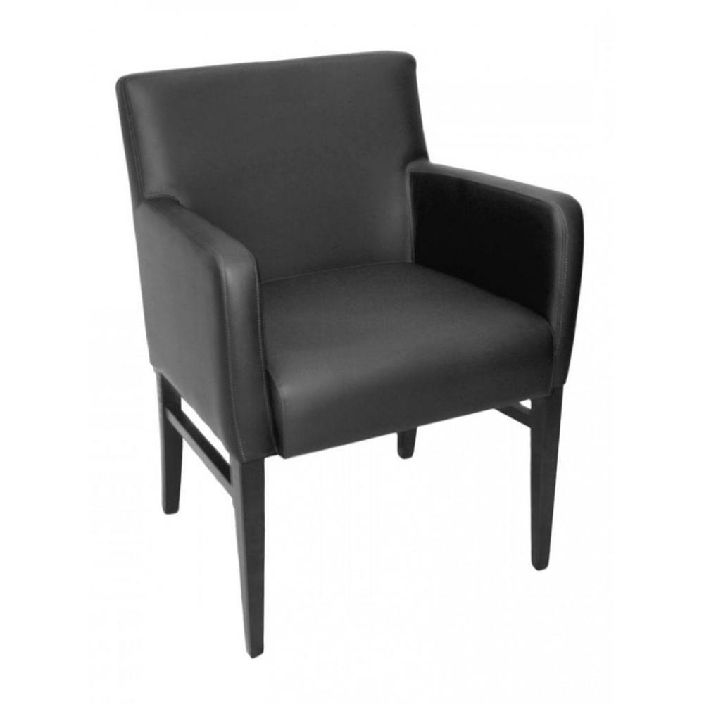Horeca stoel - Andalusia - Zwart - Armleuning - Promoline