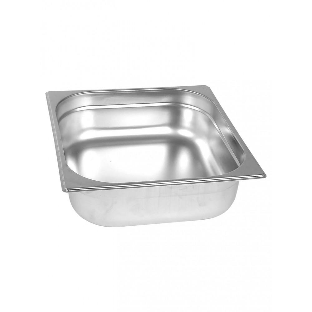 Gastronormbak - RVS - 2/3 GN - 150 mm - Promoline