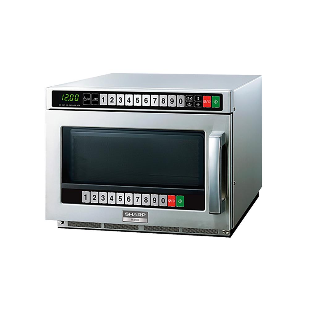 Magnetron - H 34.6 x 44.5 x 57.3 CM - 33.5 KG - 220 - 240 V - 3000 W - RVS - 21 Liter - Sharp - 370002