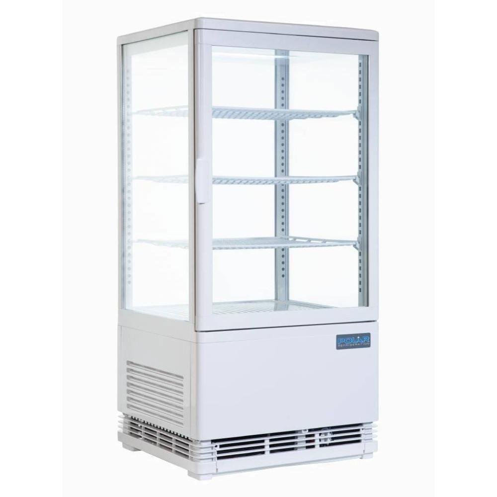 Koelvitrine - 86 liter - Wit - CB507   Polar