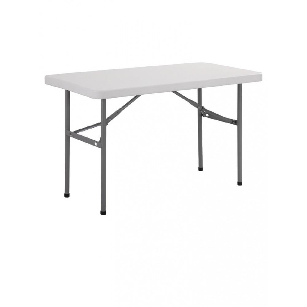 Rechthoekige inklapbare tafel 122cm - U543 - Bolero