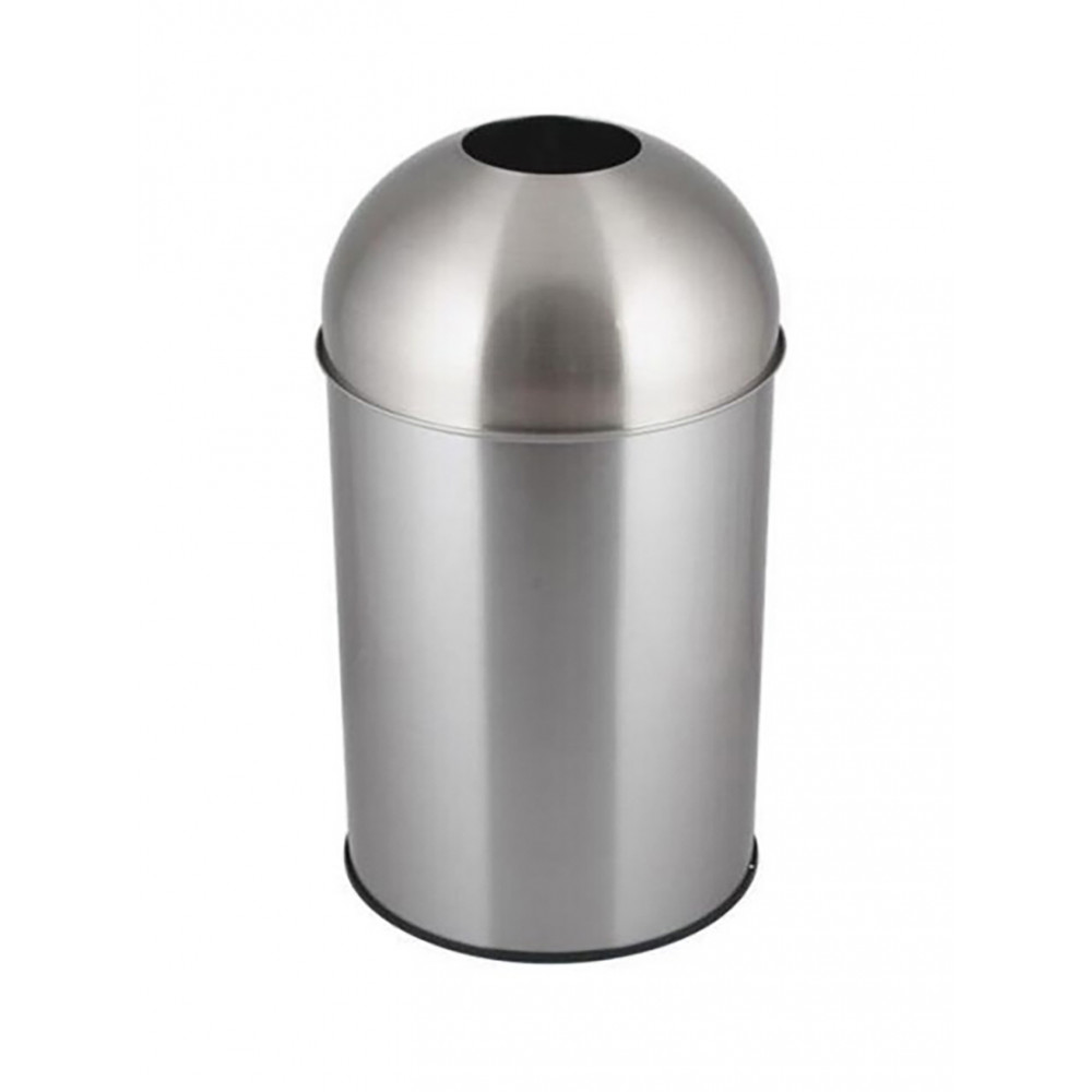 Afvalbak - 50 Liter - Mat RVS - Promoline