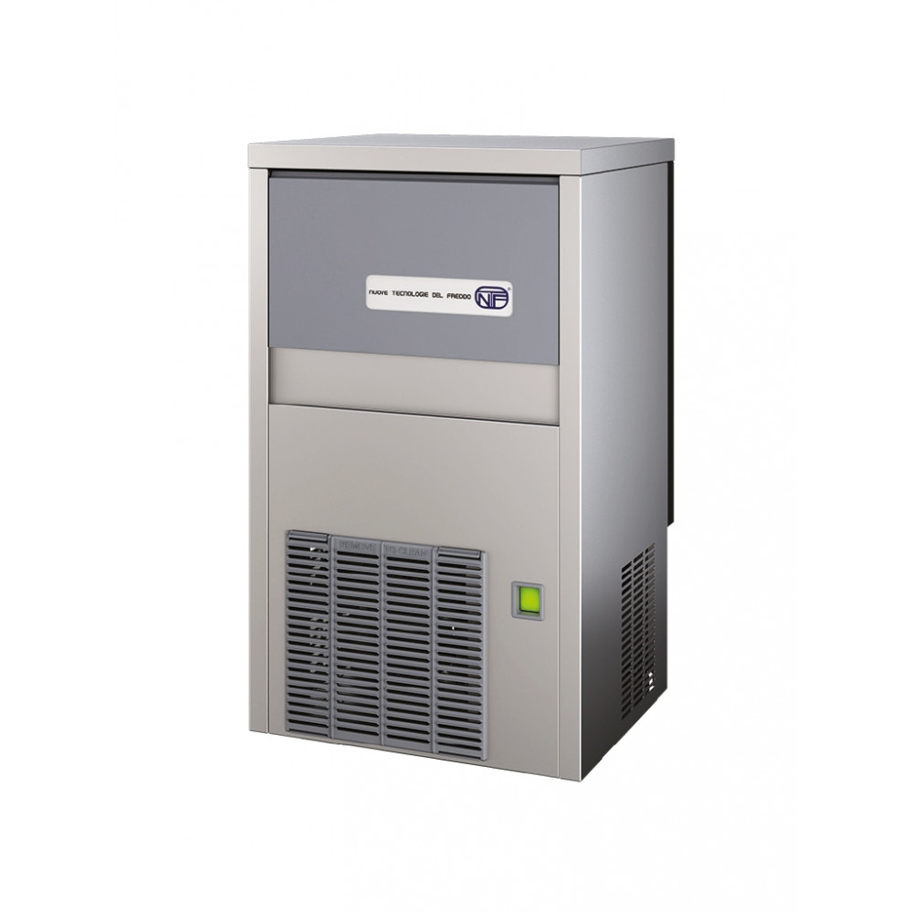 IJsblokjesmachine - 30 kg / 24u - Holle ijsblokjes - Luchtgekoeld - NTF