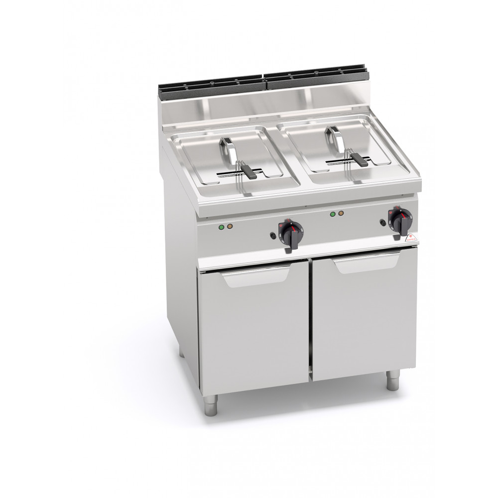 Horeca friteuse - 2 x 10 Liter - Elektrisch - Berto's - E7F10-8MS