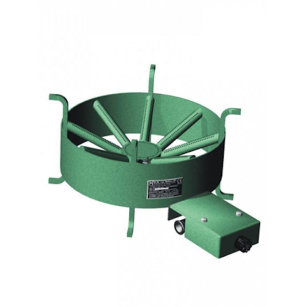 Wokbrander/Kooktoestel 340-B - Holten - (Propaan)