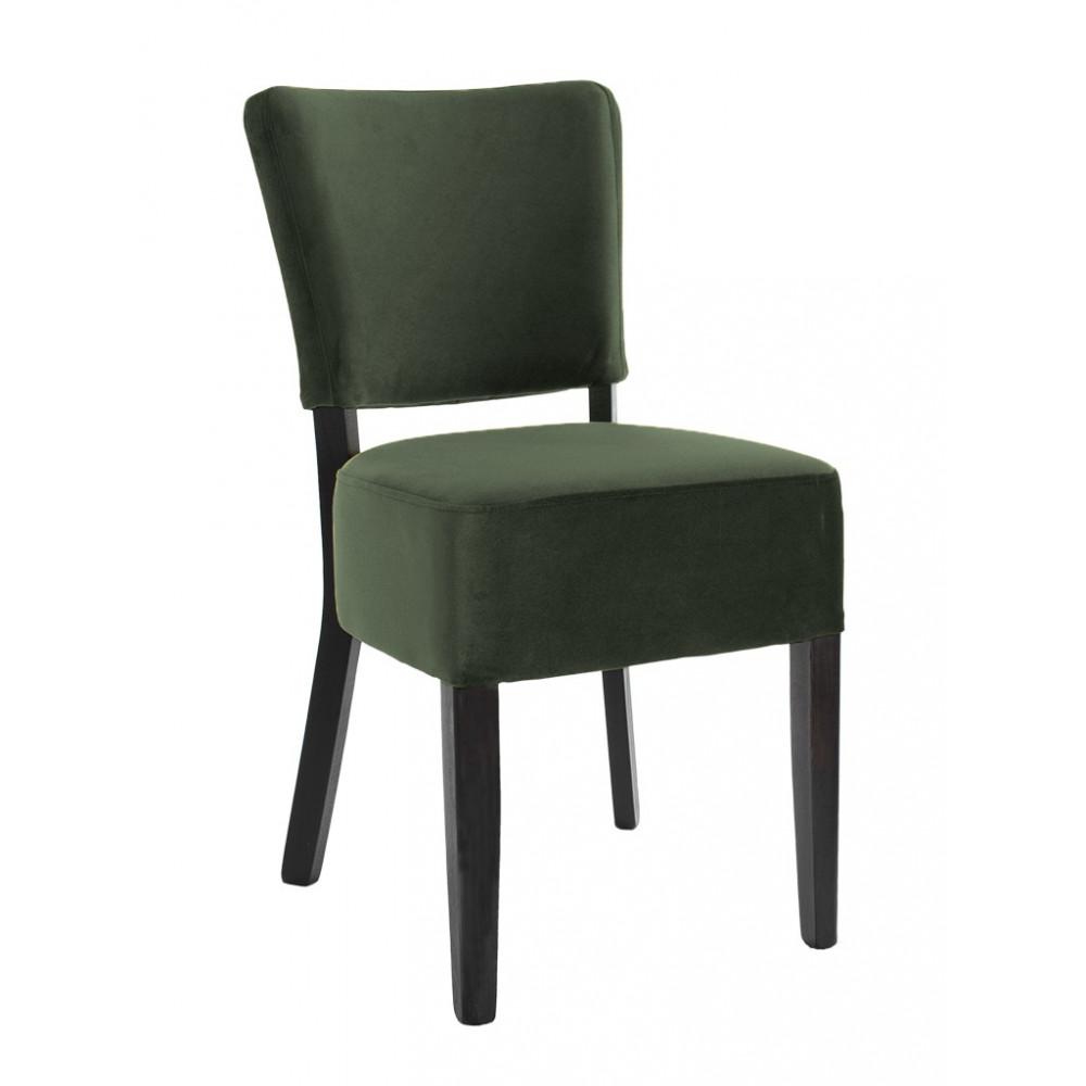 Horeca stoel - Rome - Velvet - Donkergroen