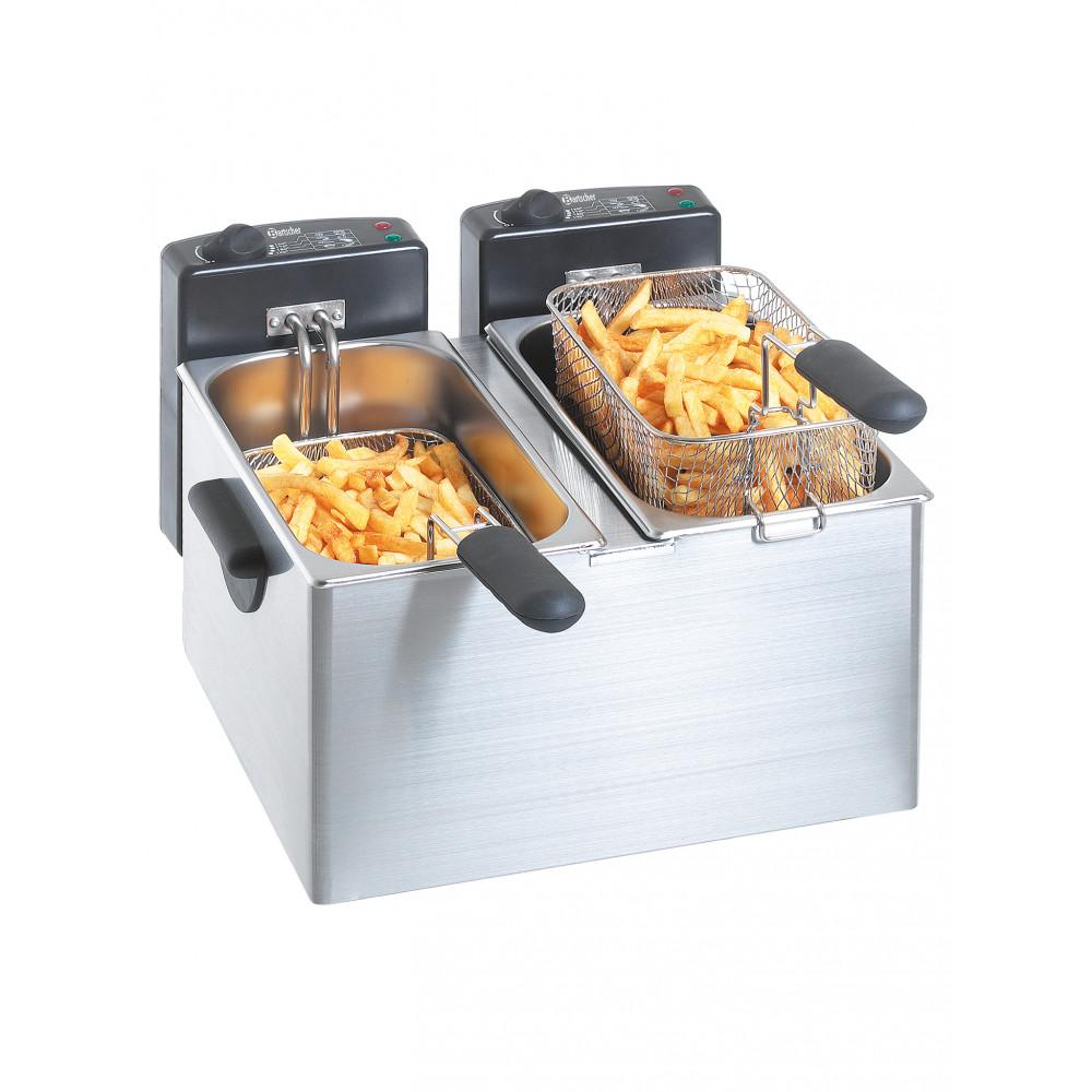 Friteuse - 2 x 4 Liter - 230V - Bartscher - A165112