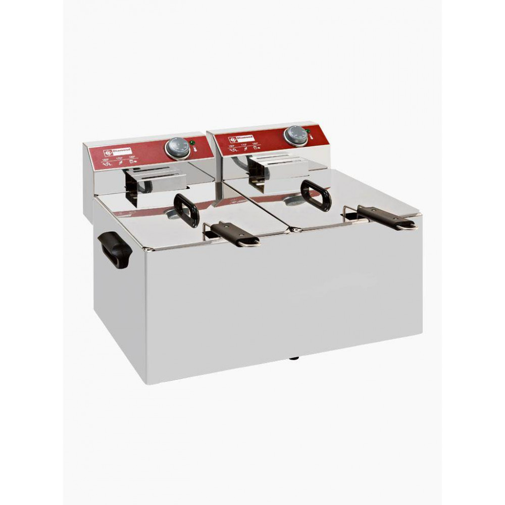 Horeca friteuse - 2 x 7 liter - Fryers line - EF72-N - Diamond