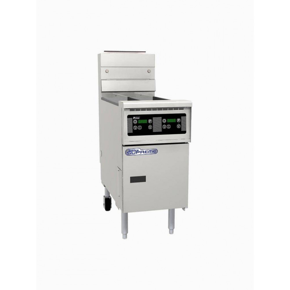 Pitco friteuse Solstice Supreme gas SSH55T computer