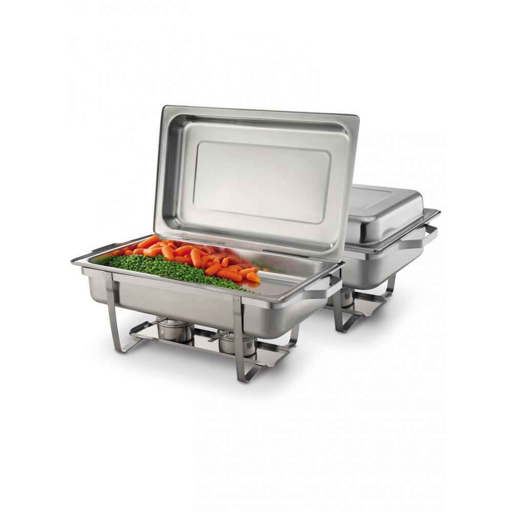 Chafing dish Gastronorm 1/1 - RVS 180 - H 29.5 X 35.8 X 60 CM - Hendi - 472613