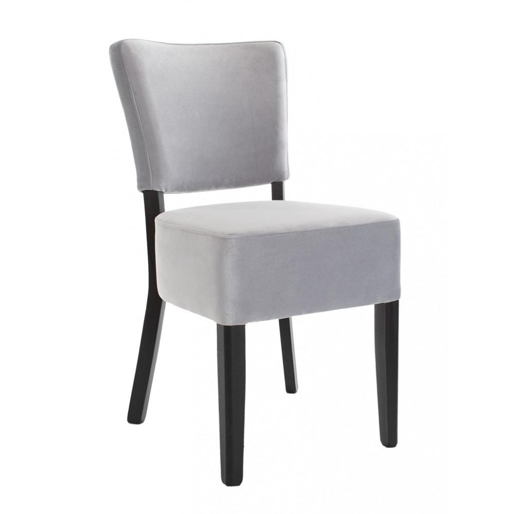 Horeca stoel - Rome - Velvet - Lichtgrijs