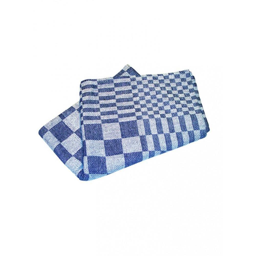 Keuken(Thee)Doek - 60 CM - 0.115 KG - 60 CM - Katoen - Blauw - 878010