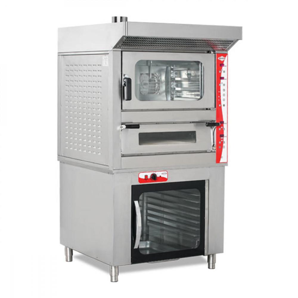 Convectie- en Pizza oven - Digitale Besturing - Promoline