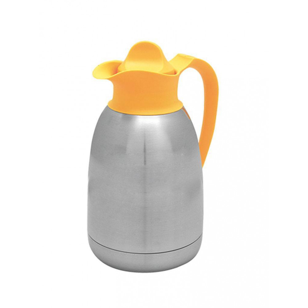 Isoleerkan - RVS - 1.5 liter - Yellowline - 595015