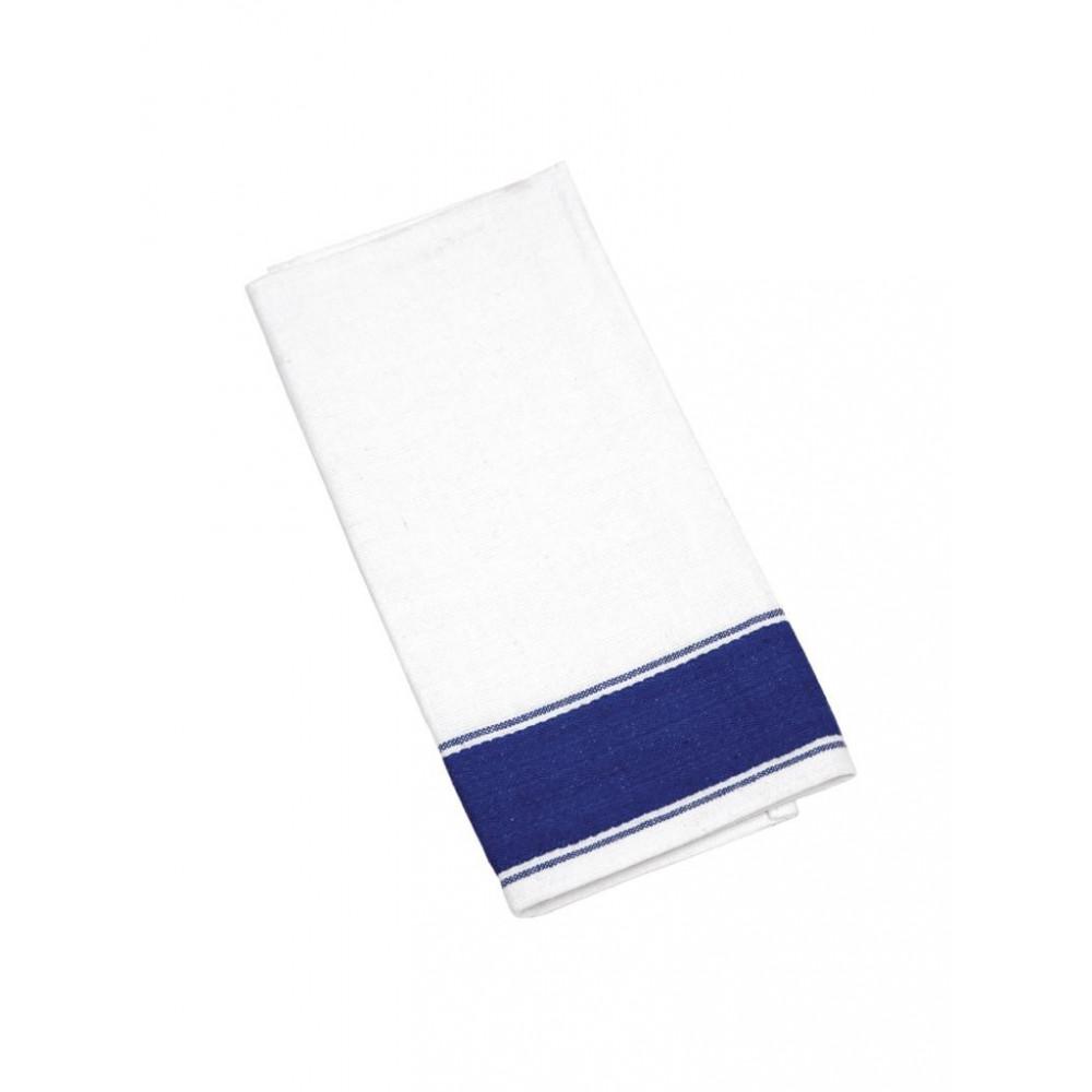 Olympia gastro servetten met blauwe rand - B478