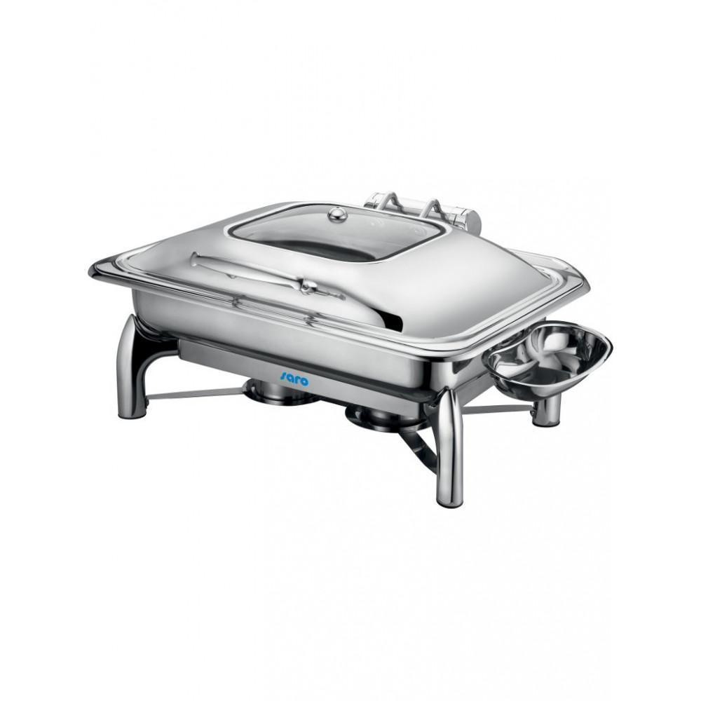 Chafing dish - Zelfsluitende Deksel - 1/1GN - Saro - 213-1200