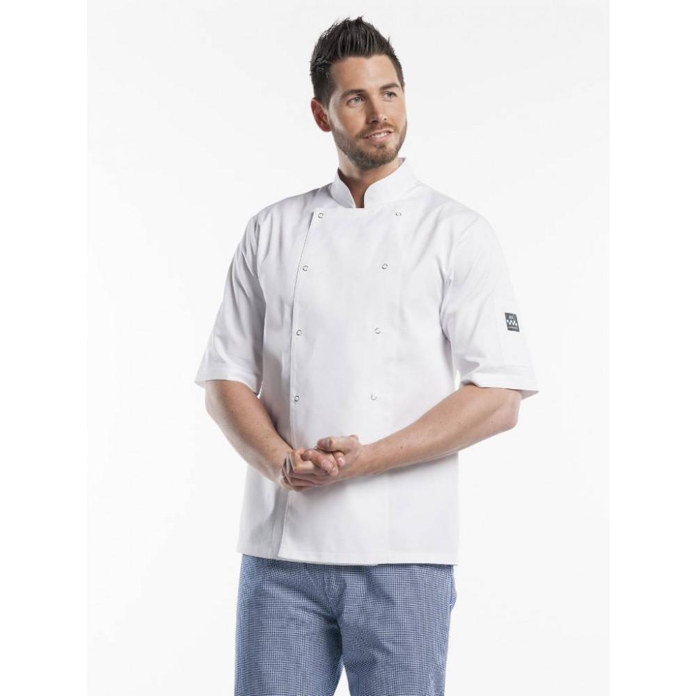 Chaud Devant - Hilton Poco White Short Sleeve - Koksbuis