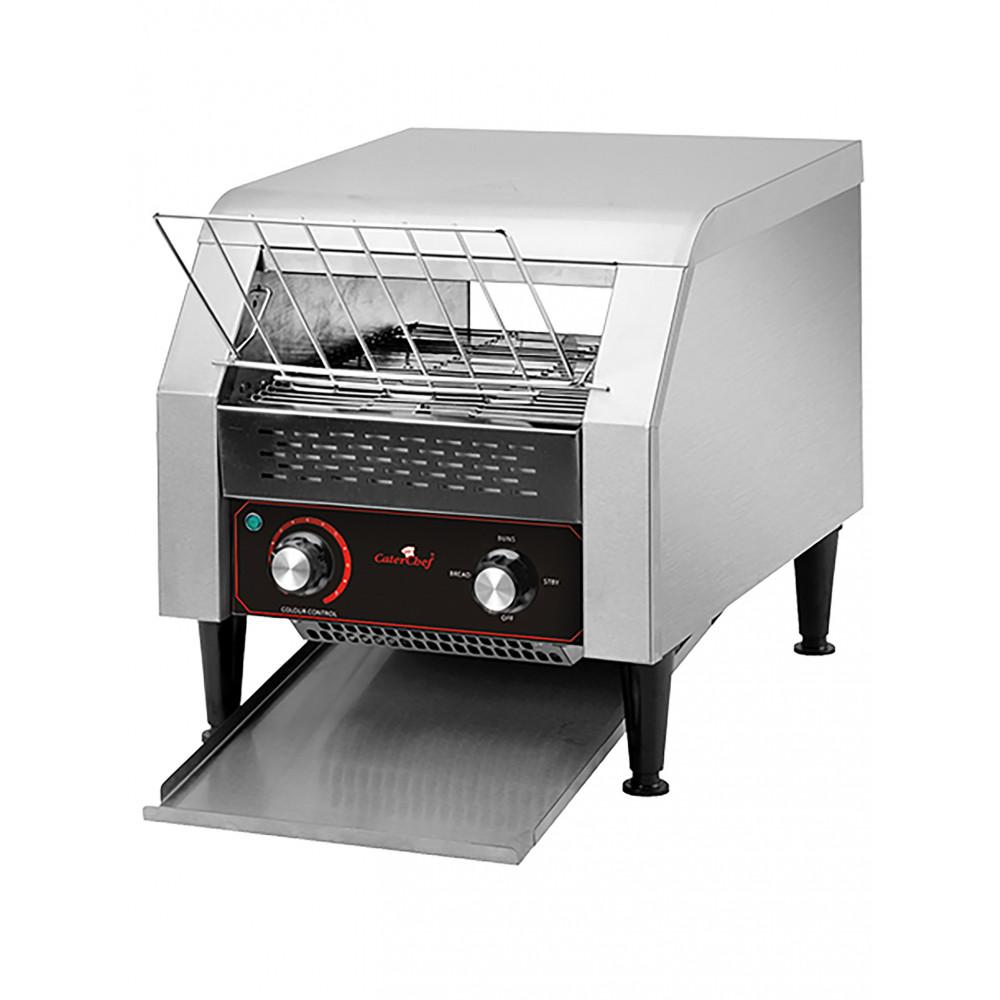 Conveyor Toaster - H 39.1 x 36.8 x 54 CM - 16 KG - 220 - 240 V - 2240 W - RVS - Caterchef