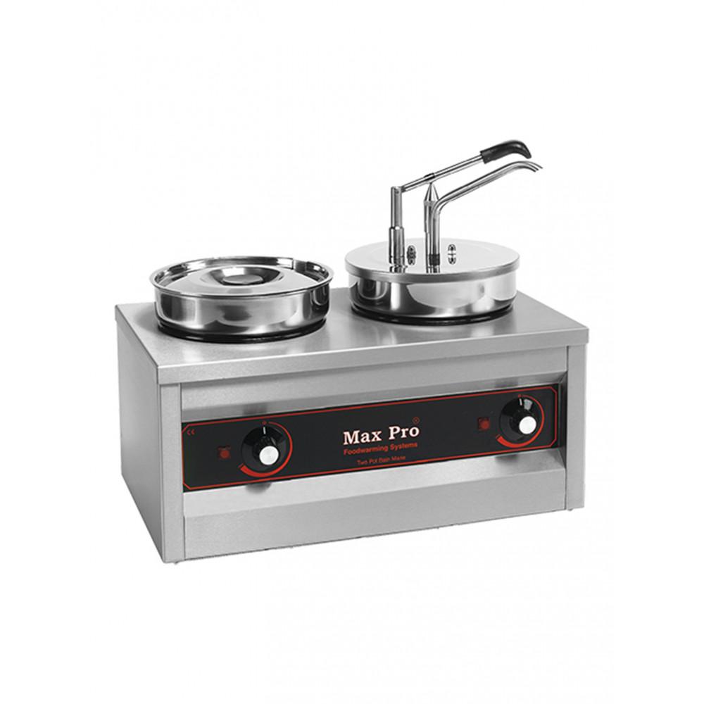 Warme Sauzen Dispenser - 2 X 4.5 L - Max Pro - 921462